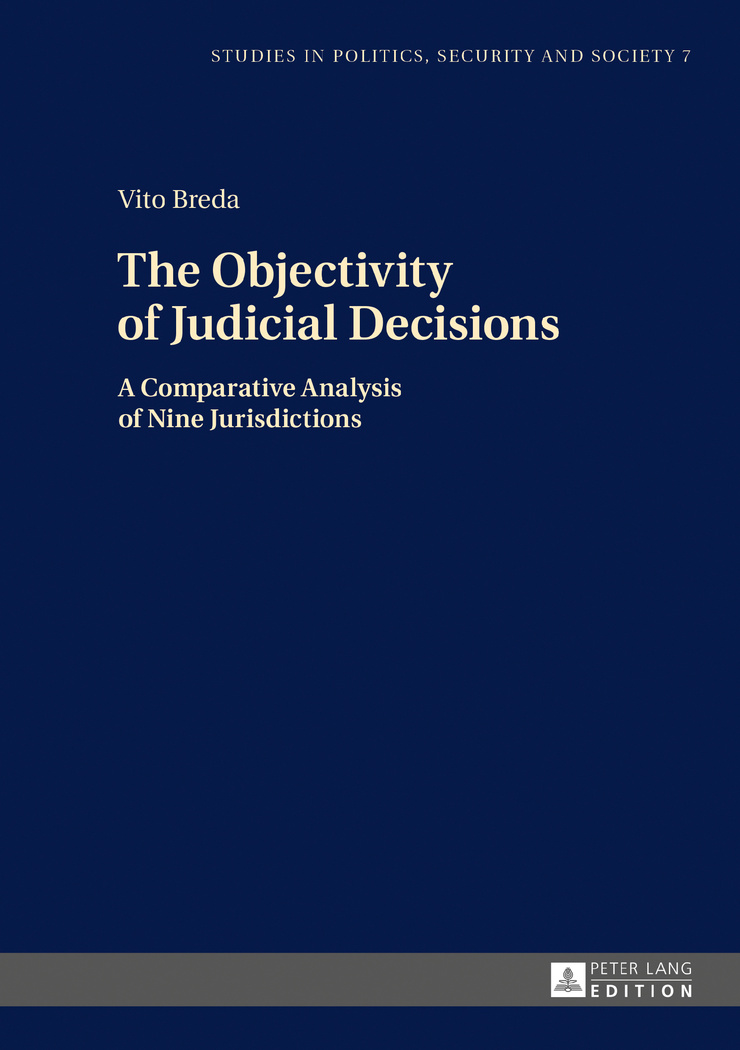 The objectivity of judicial decisions. 9783631675908