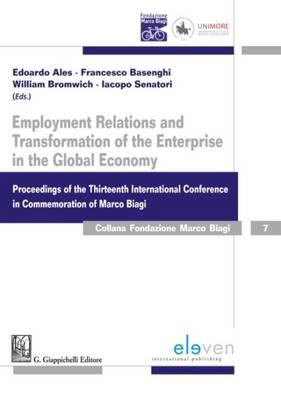 Employment relations and transformation of the enterprise in the global economy. 9789462366954