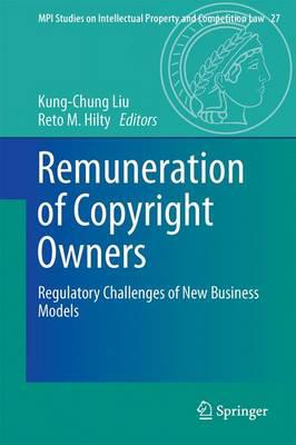 Remuneration of copyright owners . 9783662538081