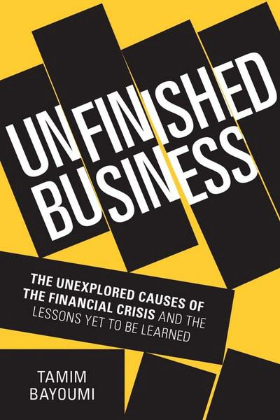 Unfinished business . 9780300225631