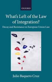What's left of the law of integration?. 9780198834090