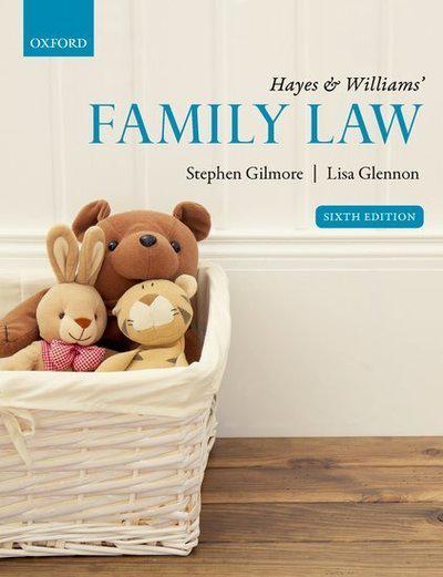 Hayes & Williams' Family Law. 9780198811862