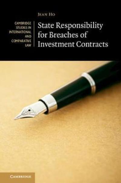 State responsibility for breaches of investment contracts . 9781108415842