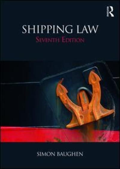 Shipping Law. 9781138045378