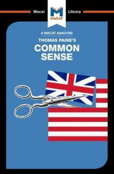 A Macta analysis of Thomas Paine's Common sense. 9781912128679