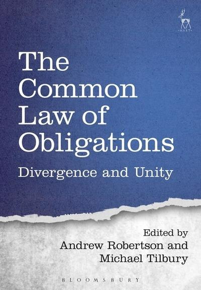 The Common Law of Obligations. 9781509921119