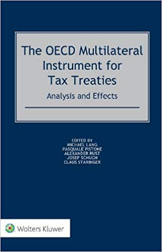 The OECD multilateral instrument for tax treaties. 9789041188366