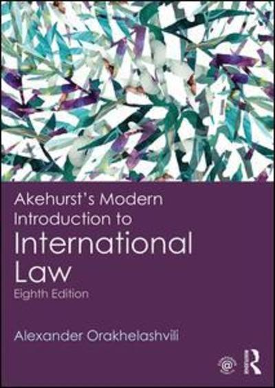 Akehurst's modern introduction to international Law. 9780415243568