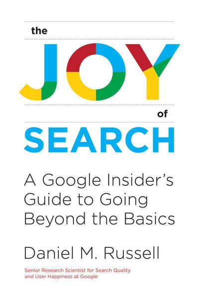 The joy of search. 9780262042871