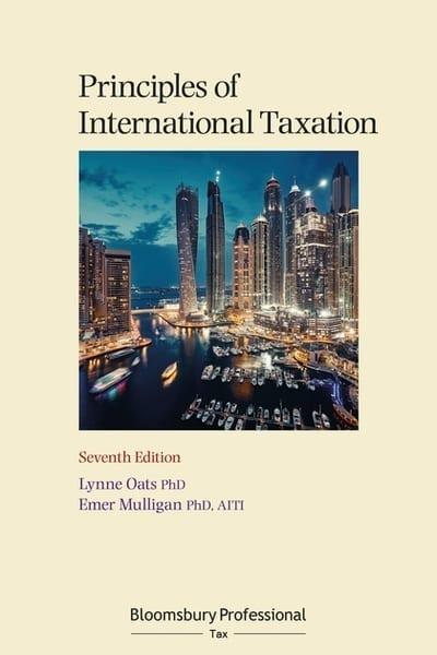 Principles of International Taxation. 9781526510396