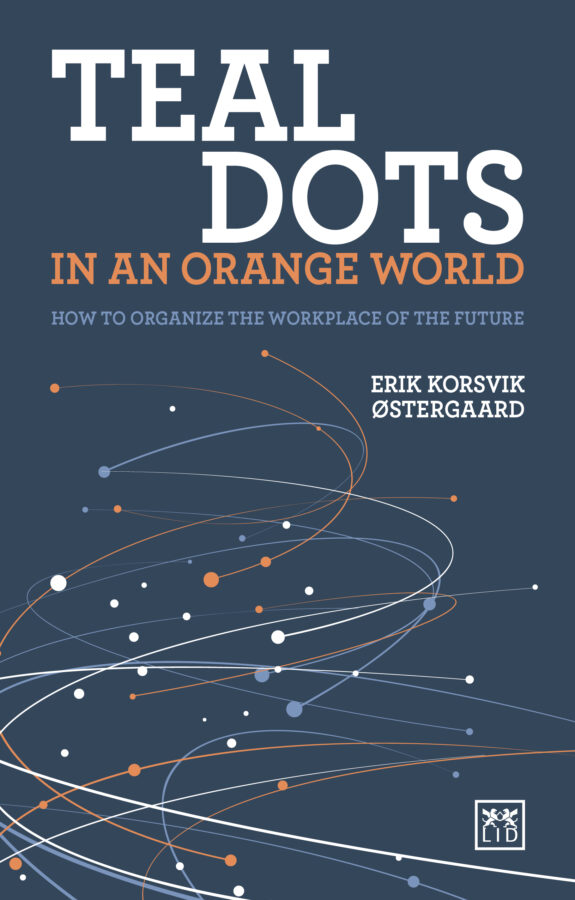 Teal dots in an orange world. 9781912555406