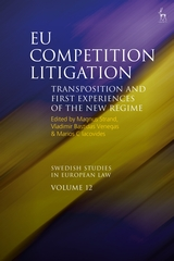 EU competition litigation. 9781509922017