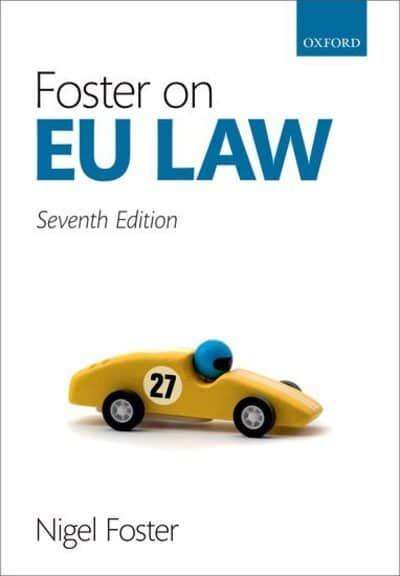 Foster on EU Law. 9780198839804