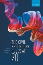 The Civil Procedure Rules at 20. 9780198863182