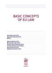 Basic concepts of EU Law. 9788413780085