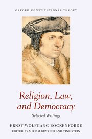 Religion, law and democracy. 9780198818632