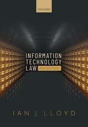 Information technology law. 9780198830559