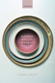 Modern social contract theory. 9780198853541