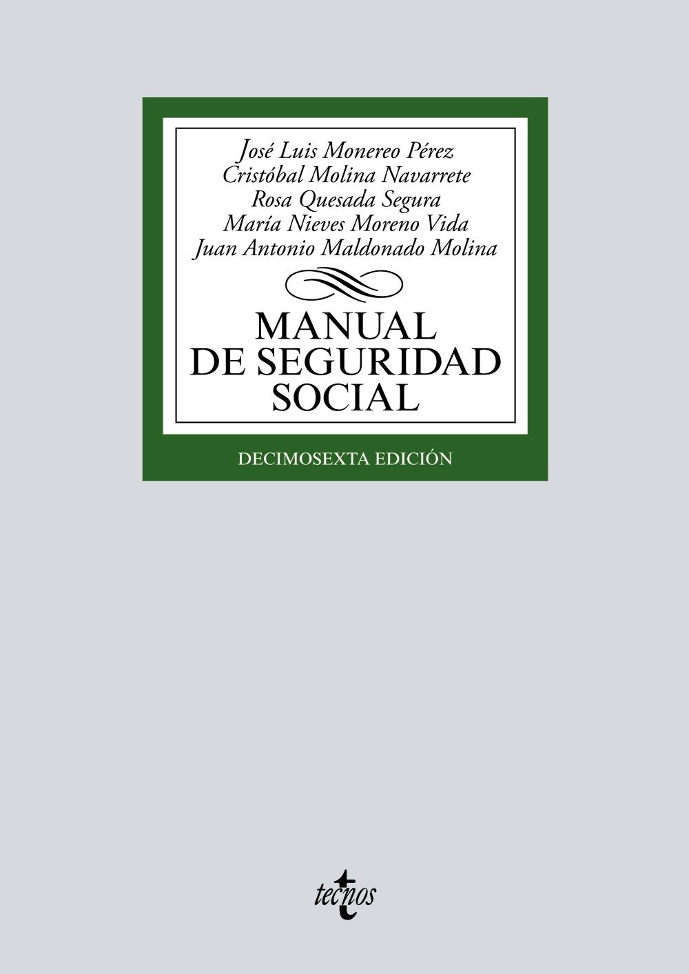 Manual de Seguridad Social. 9788430979929