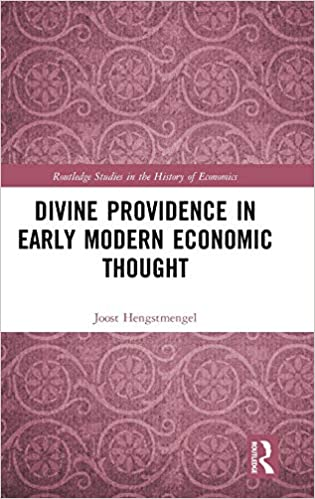 Divine providence in early modern economic thought. 9780367194567