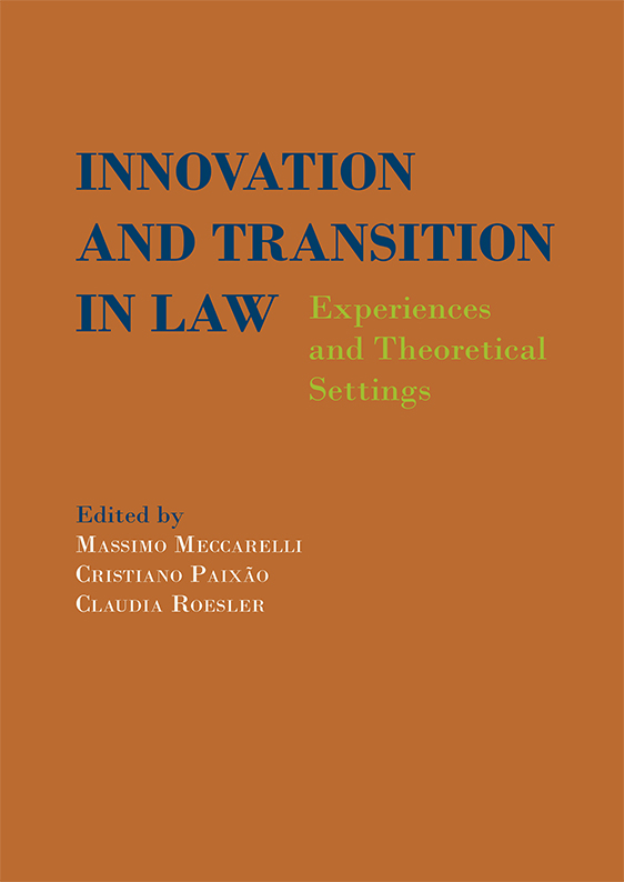 Innovation and transition in law. 9788413771632
