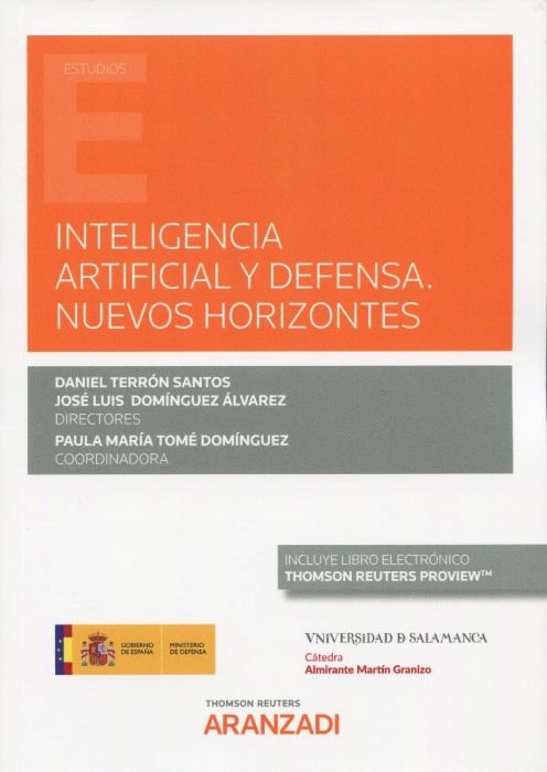 Inteligencia artificial y defensa. 9788413462738